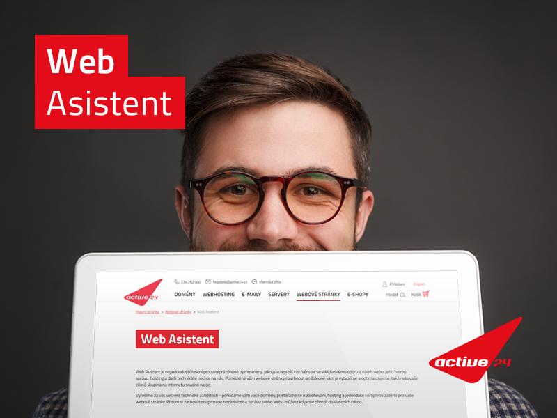 Web Asistent webstránky