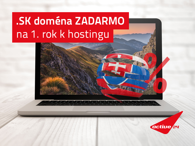 sk doména a webhosting